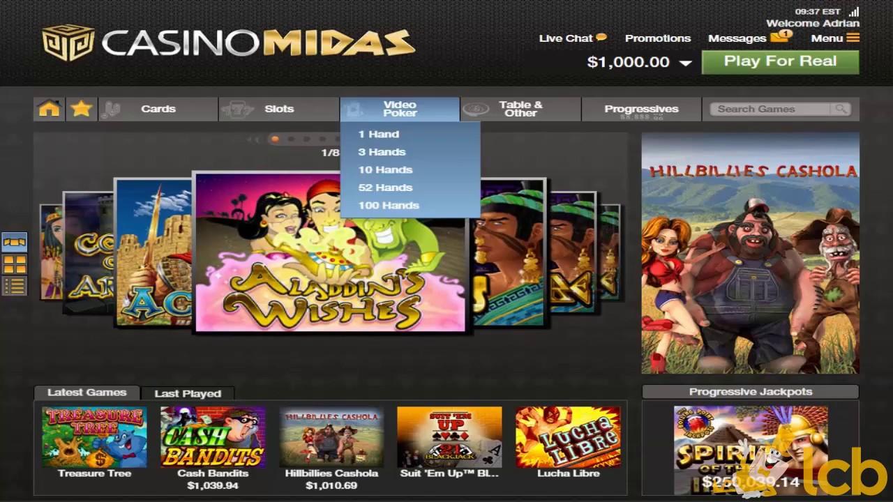 Recensione di Casino Midas: truffa o affare?